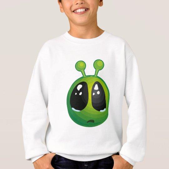 Upset alien sweatshirt