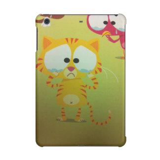 Upset cat and bird Case, Savvy Glossy iPad Retina