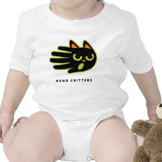 Upset Cat baby t-shirt bodysuit