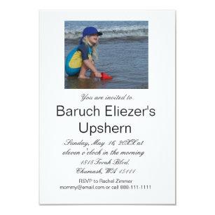 Upshernish Invitations Zazzle