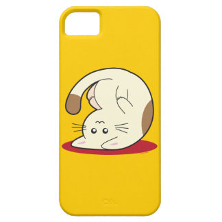 Upside Down Cat iPhone 5 Covers