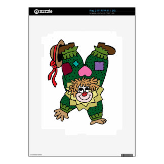 Upside Down Clown Decal For The iPad 2