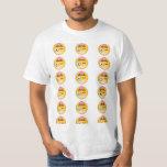 Upside down crazy face emoji! T-Shirt