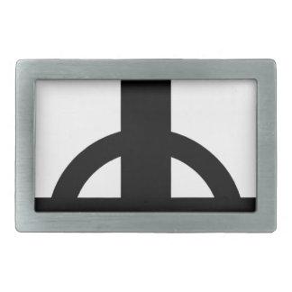 Upside Down Cross Belt Buckle