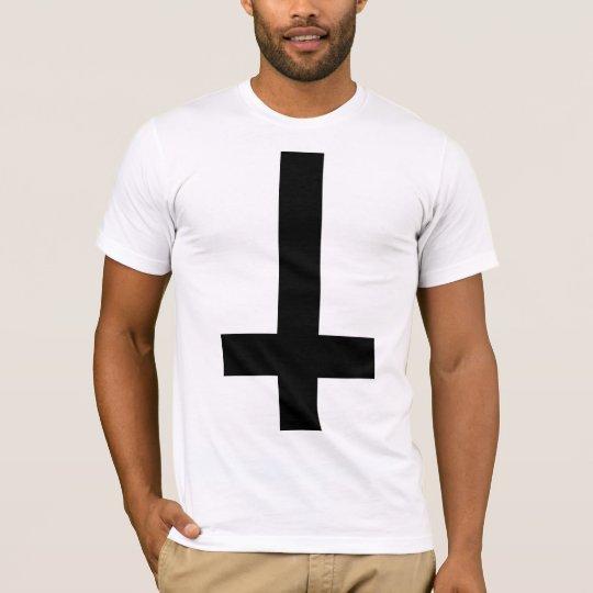 Upside Down Cross T-Shirt