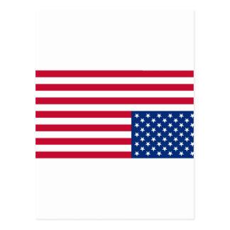 Upside Down Flag Postcard