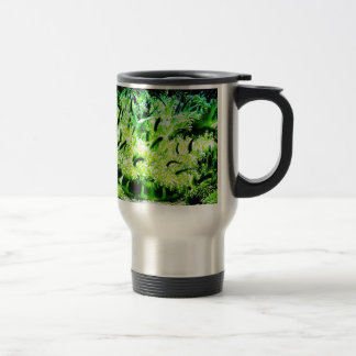Upside Down Jellyfish / Cassiopea 15 Oz Stainless Steel Travel Mug