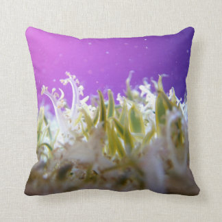 Upside Down Jellyfish Throw Pillows