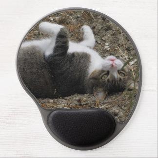 Upside Down Kitty Gel Mousepad