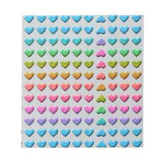 upside-down love scratch pad