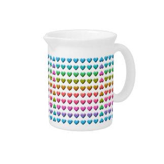 upside-down love beverage pitcher