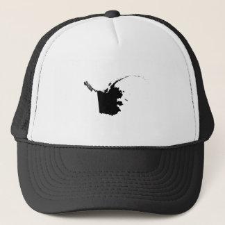 Upside Down Map of Alaska Trucker Hat