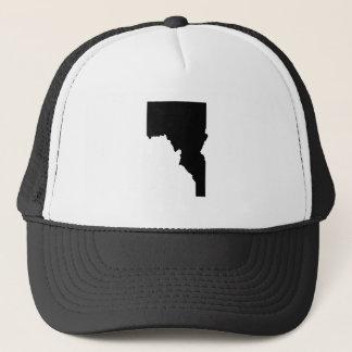 Upside Down Map of Idaho Trucker Hat