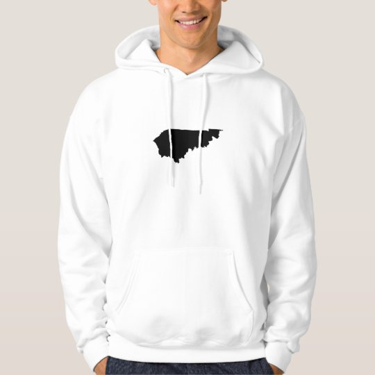 Upside Down Map of Kentucky Hoodie