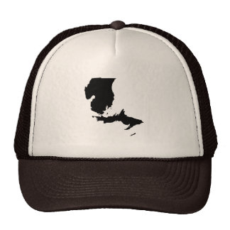 Upside Down Map of Michigan Mesh Hat