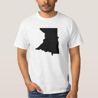 Upside Down Map of Minnesota T-Shirt