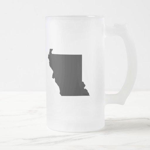 Upside Down Map of Missouri Coffee Mug