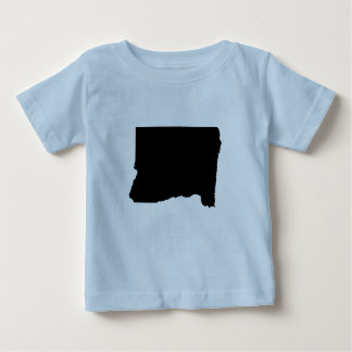 Upside Down Map of Oregon Baby T-Shirt
