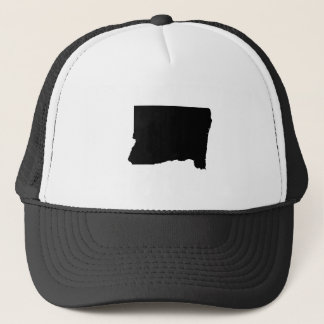 Upside Down Map of Oregon Trucker Hat