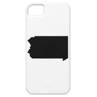 Upside Down Map of Pennsylvania iPhone 5 Cases