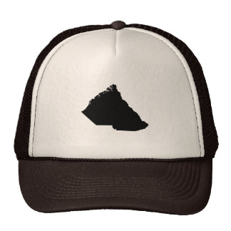 Upside Down Map of South Carolina Trucker Hat