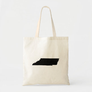 Upside Down Map of Tennessee Tote Bag