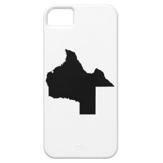 Upside Down Map of Texas iPhone SE/5/5s Case