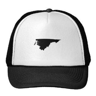 Upside Down Map of Virginia Trucker Hat