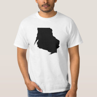 Upside Down Map of Wisconsin T-Shirt