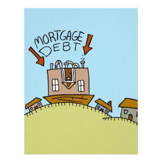 Upside Down Mortgage Debt Letterhead
