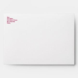 Upside Down Over You Greeting Card Emvelope Envelopes