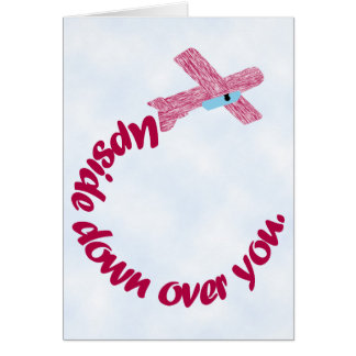 Upside Down Over You Proposal Card