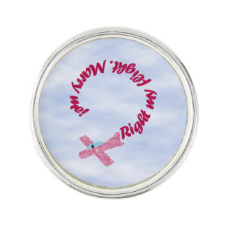 Upside Down Over You Proposal Lapel Pin