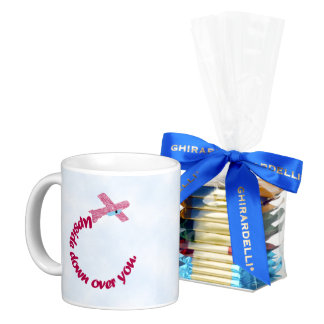 Upside Down Over You Proposal Mug & Ghirardelli Ch