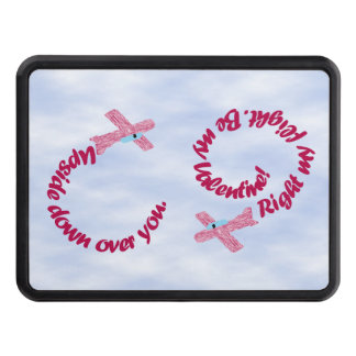 Upside Down Over You Valentine Trailer Hitch Hitch Cover
