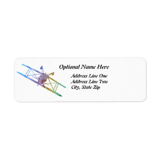 Upside Down Pitts in Rainbow Colors Label