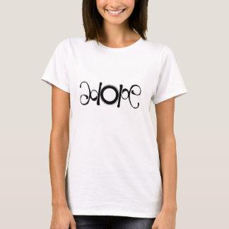 "Upside-down / Rightside-up ""HOPE"" design T-Shirt"