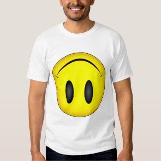 Upside Down Smiley face Shirt