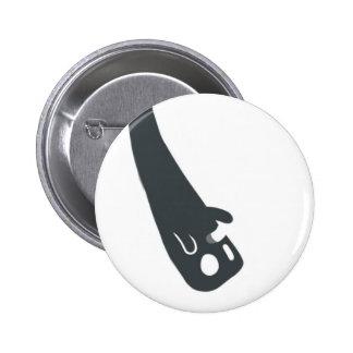 Upside-Down Spectre Pinback Button