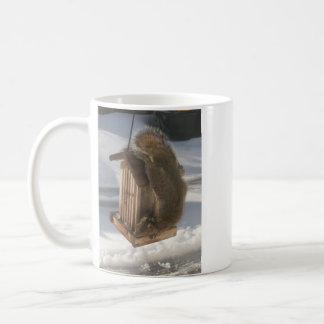 Upside Down Squirrel Mug