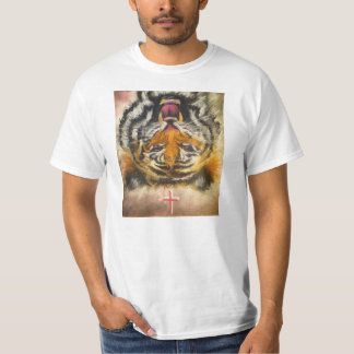 Upside-Down Tiger Cross Shirt