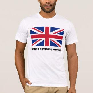 Upside down union flag T-Shirt
