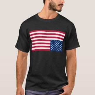 Upside Down USA Flag (Distress Signal) T-Shirt