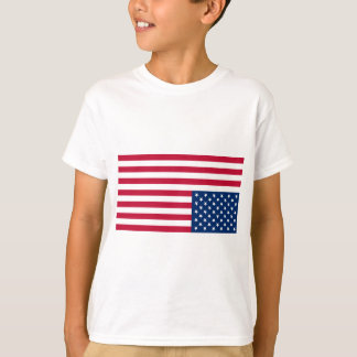Upside Down USA Flag (Distress Signal) T-Shirt