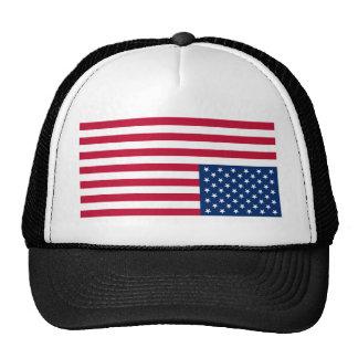 Upside Down USA Flag (Distress Signal) Trucker Hat