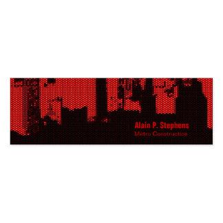 Upside Downtown LED Horizontal Skinny Business Card