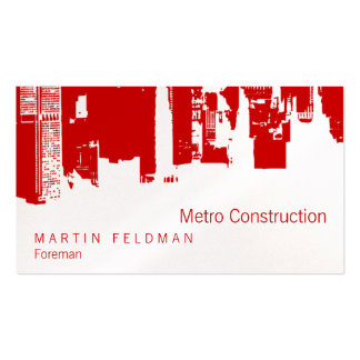 Upside Downtown Remodel Business Cards