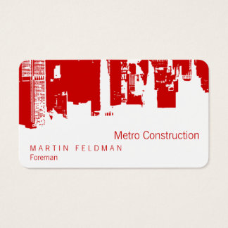 Upside Downtown Remodel Business Card