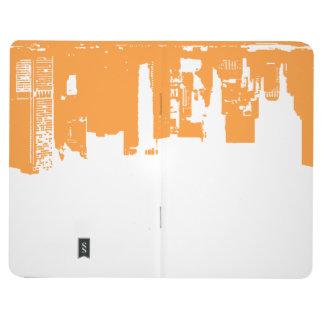 Upside Downtown - Vivid Orange Journals