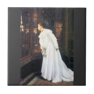 Upstairs by James Tissot Ceramic Tiles